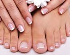 Luxury French Pedicure